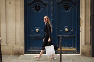 パリで買い物