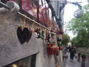 パリのハート通り