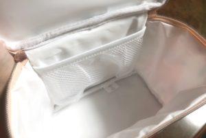 保冷機能付きランチバッグの中身